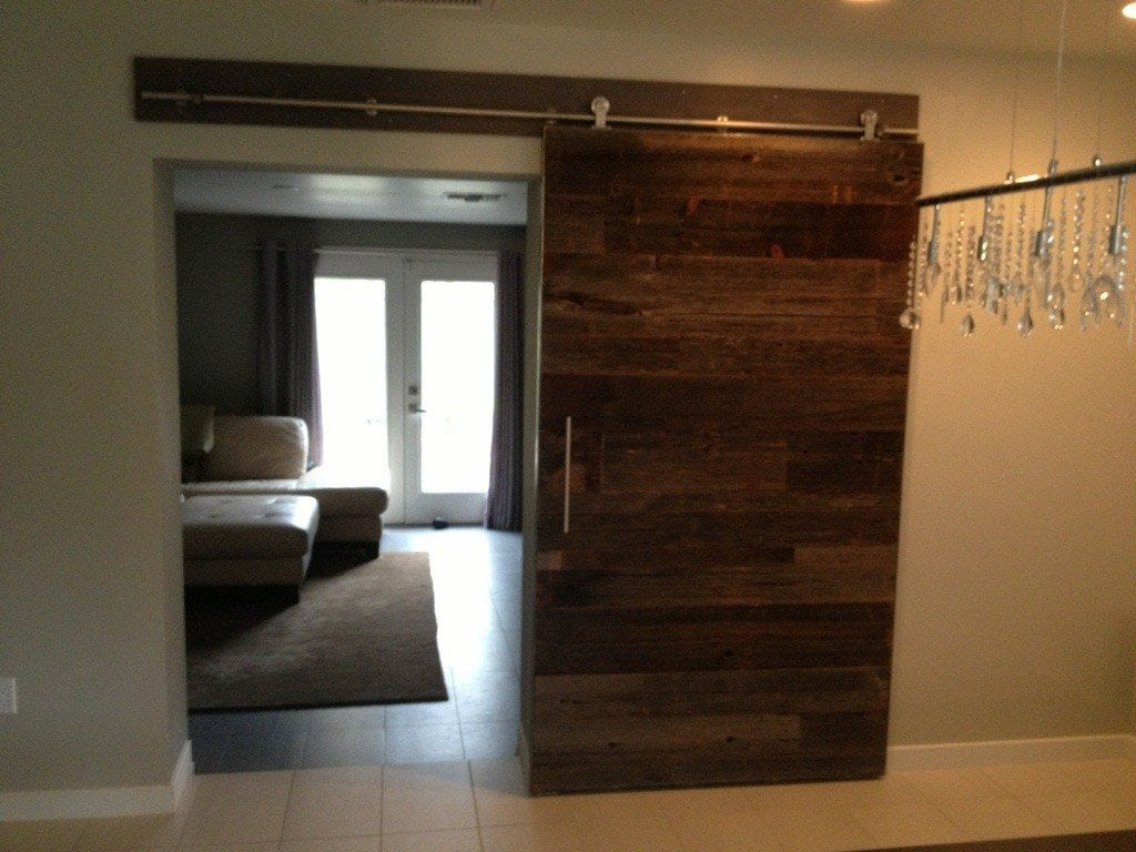 custom sliding door replacement porter barn wood