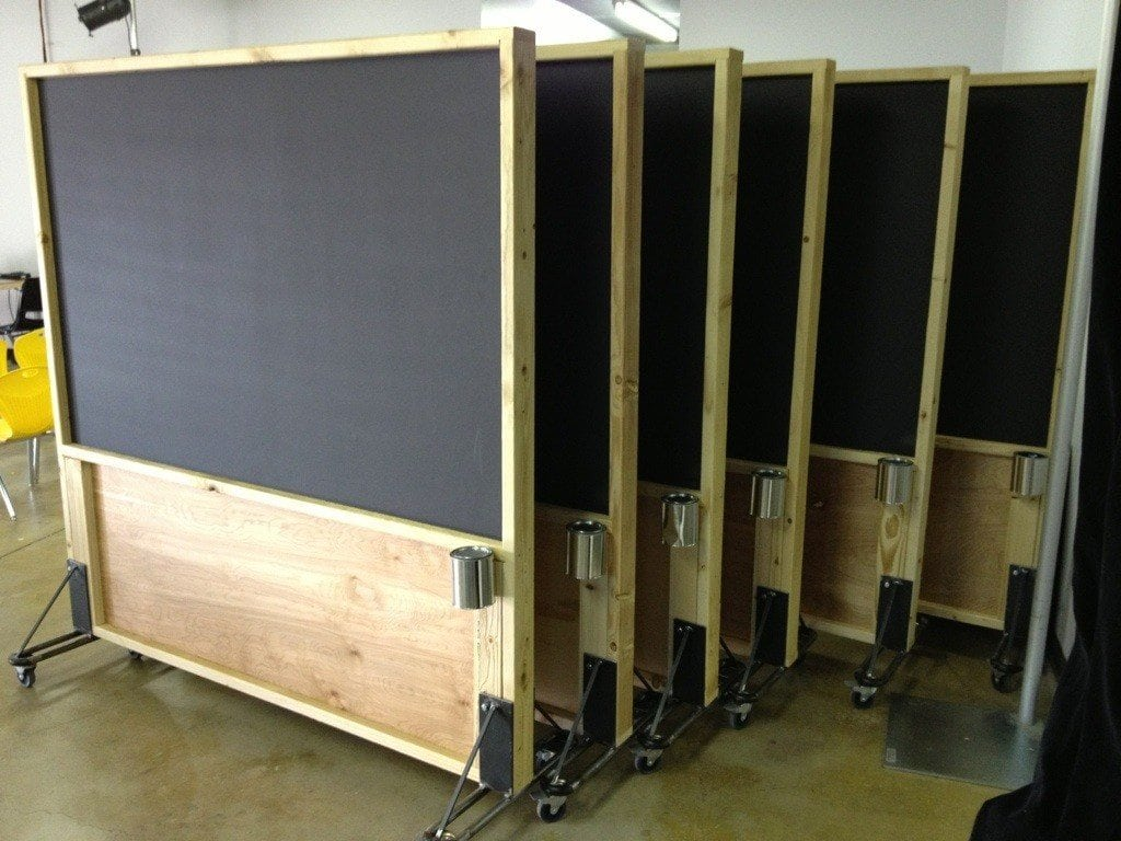 Rolling Room Dividers