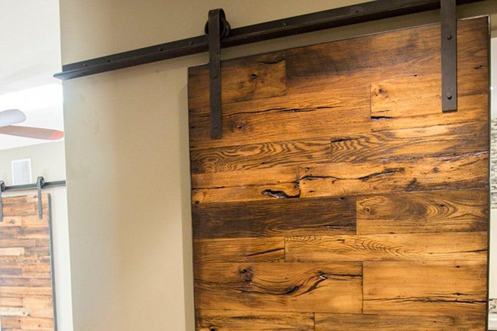 Tobacco Barn Wood Sliding Barn Doors 3