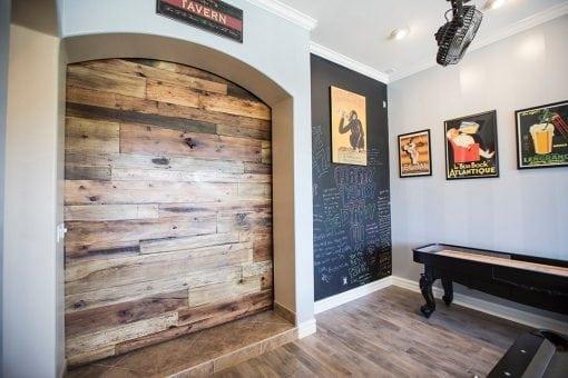 Tobacco Barn Brown Game Room XL Sliding Barn Door