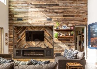 Reclaimed Wood Wall & Entertainment Cabinet – Silvas