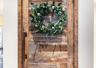 Pre-Hung Reclaimed Wood Door