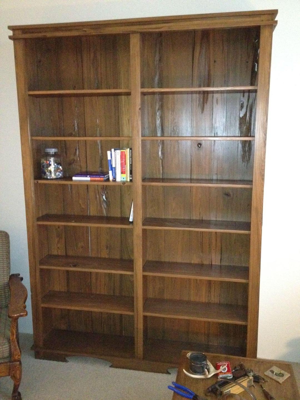 Mushroom Wood Bookcase