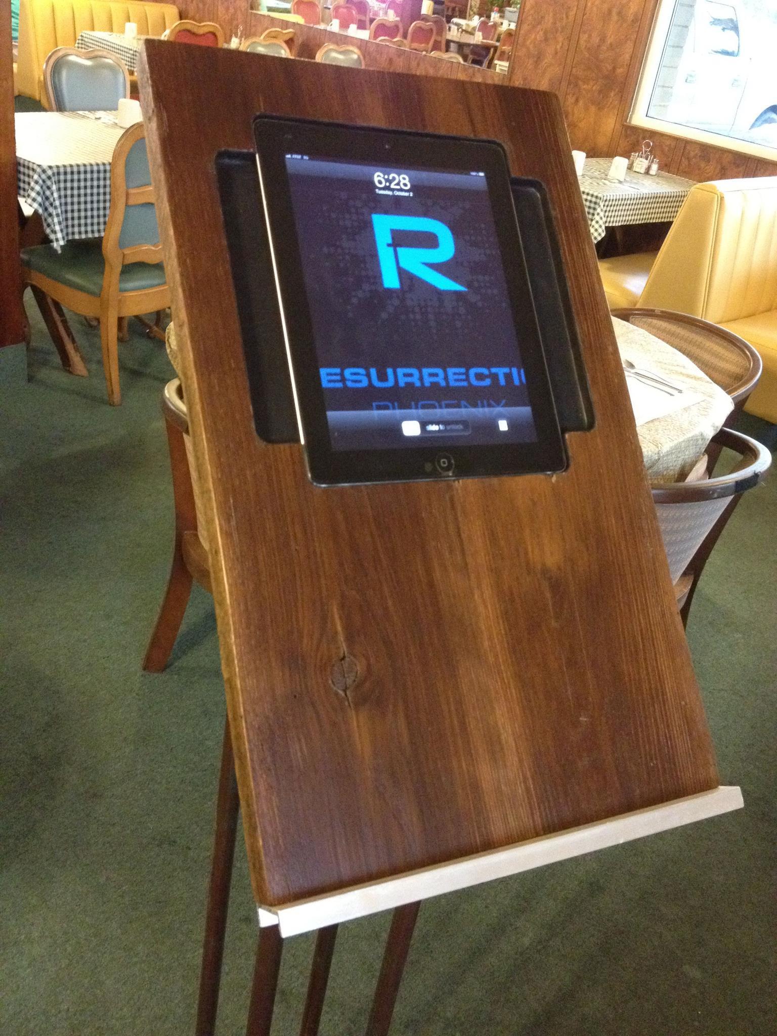 iPad Pulpit