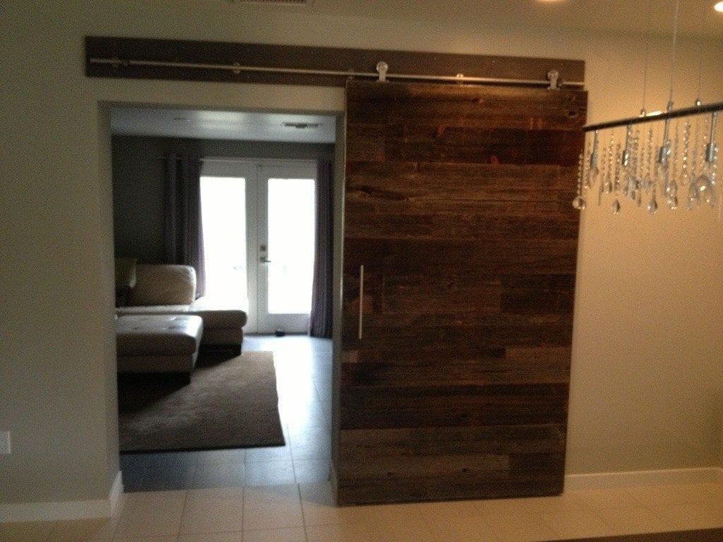 Custom sliding door replacement porter barn wood for Doorway doors