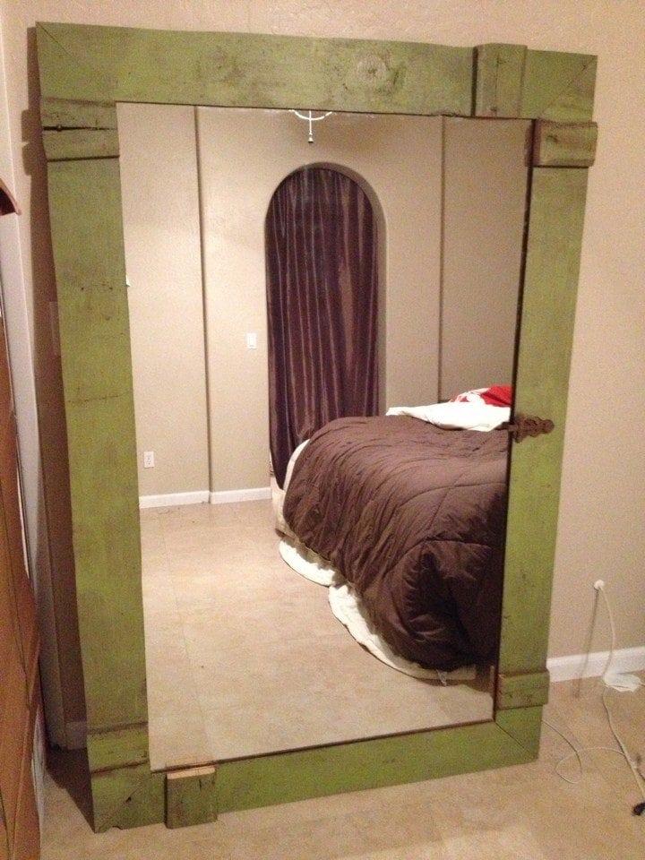Barn Door Mirror
