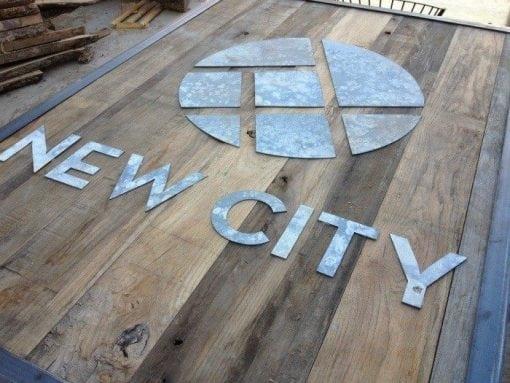 New City Church Sign
