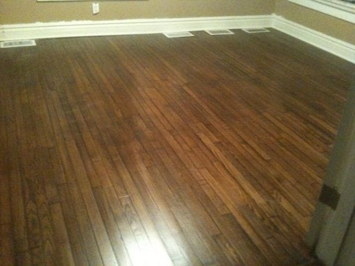 Reclaimed Oak Flooring Restoration – New City Studio