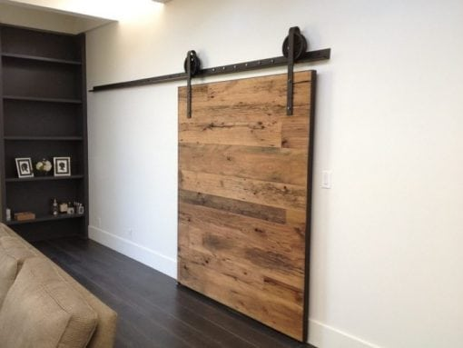 Tobacco Barn Wood Sliding Barn Door