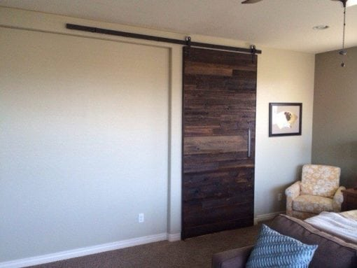 Reclaimed Hemlock 48×100 Sliding Barn Door