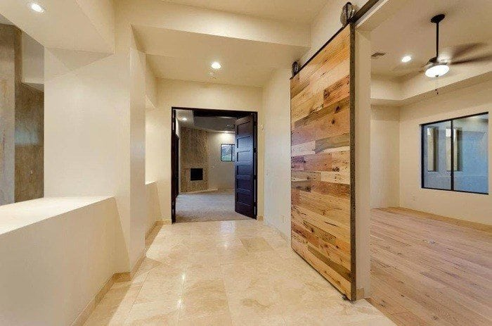 Custom Contemporary Barn Wood Sliding Door