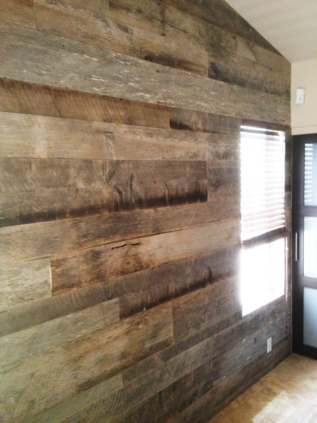 Tobacco Barn Wood Bedroom Wall