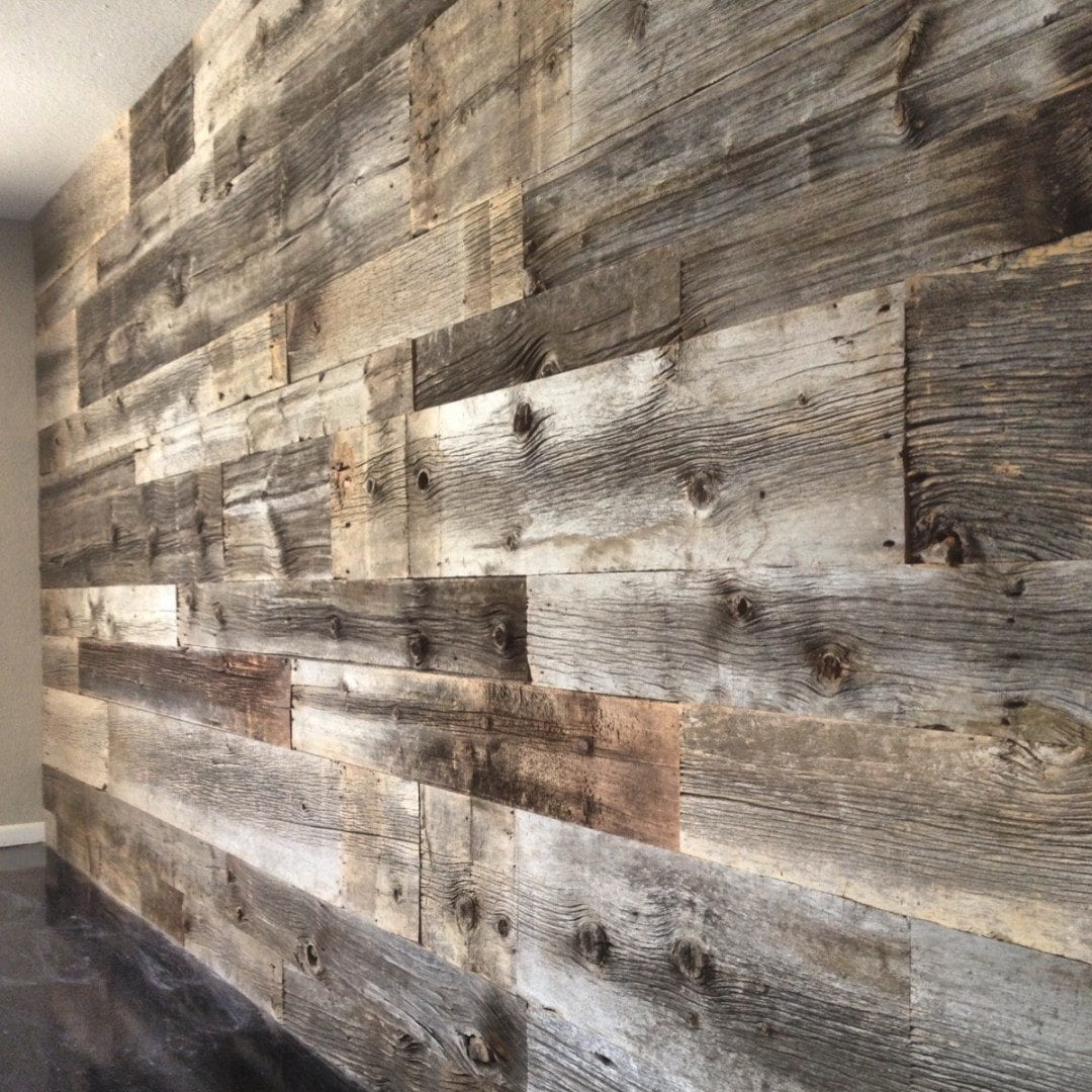 Reclaimed Grey Hemlock Siding Wall Porter Barn Wood