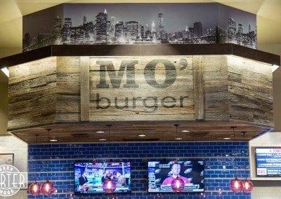 Mo' Burger Arizona Mills – Tobacco Barn Grey Makeover