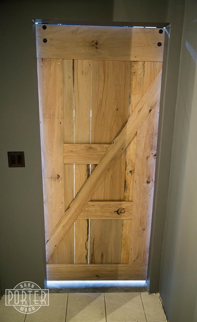 Natural Reclaimed Wood Sliding Barn Doors