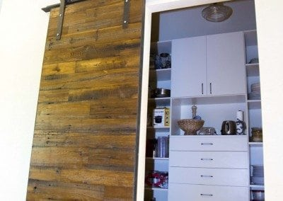 American Chestnue Sliding Barn Door