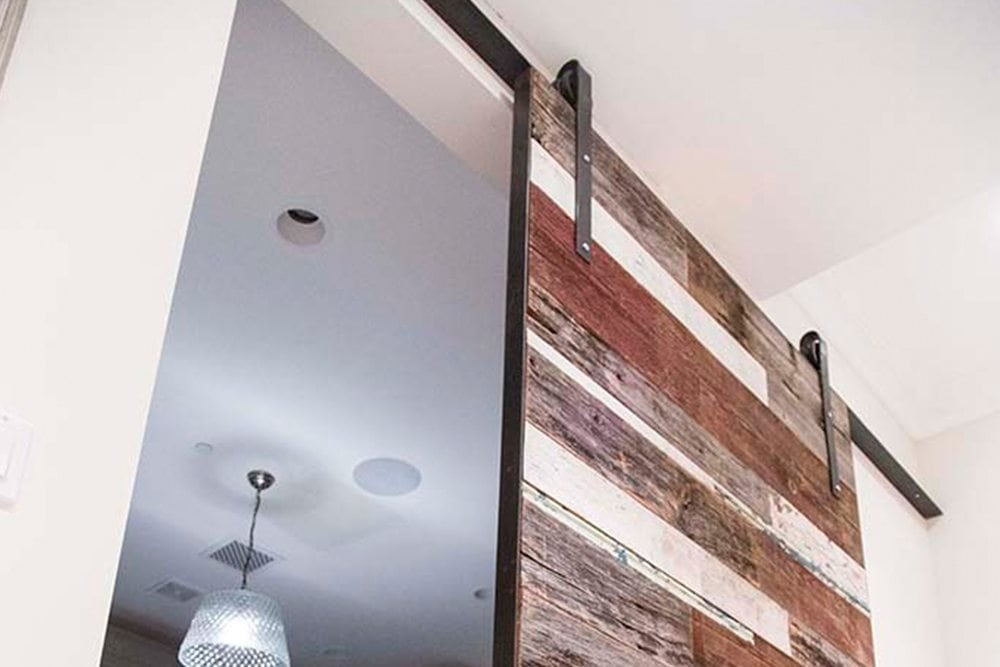 """Mixed-Bag"" Sliding Barn Door"