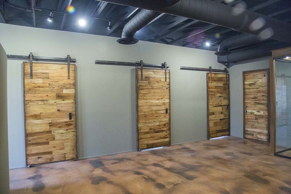 Tobacco Barn Wood Sliding Barn Doors & Hinged Doors - Doors Porter Barn Wood
