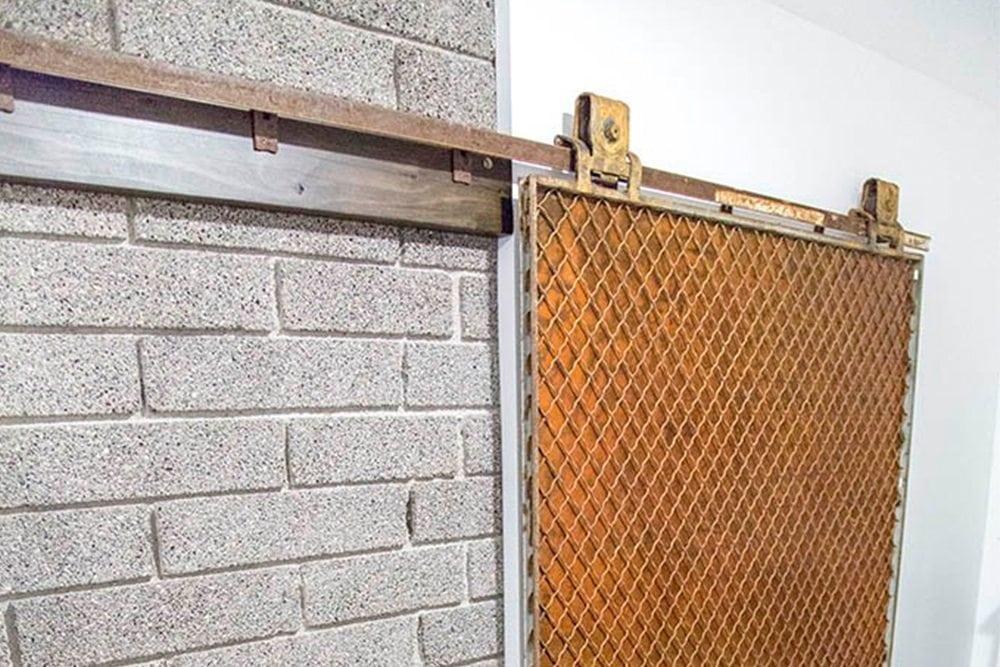6E9A9582_1featured & Modern Industrial Sliding Freight Elevator Door | Porter Barn Wood