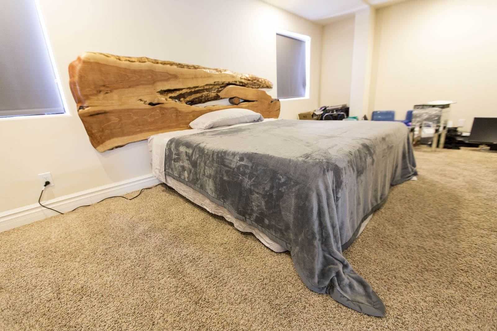 how hanging for frame bedroom to without headboard a other no pin framing design problem bed ideas
