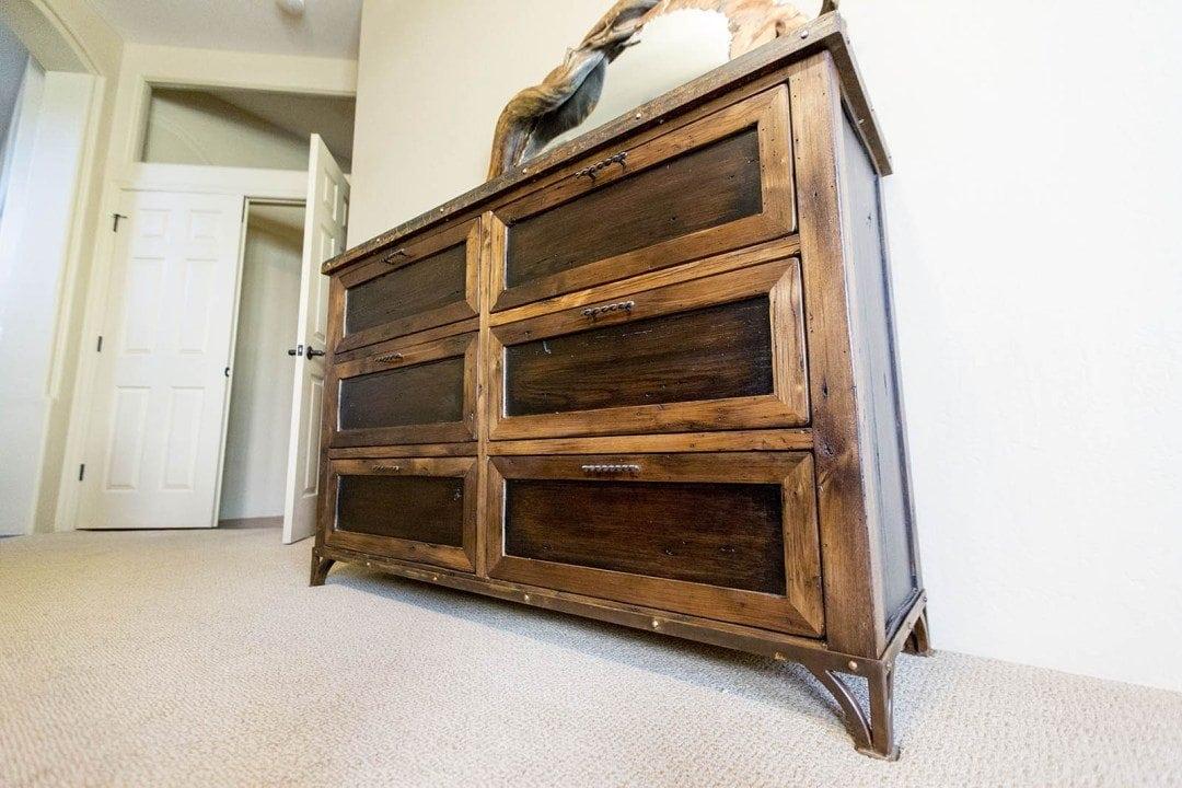 Reclaimed American Chestnut & Oak Dresser