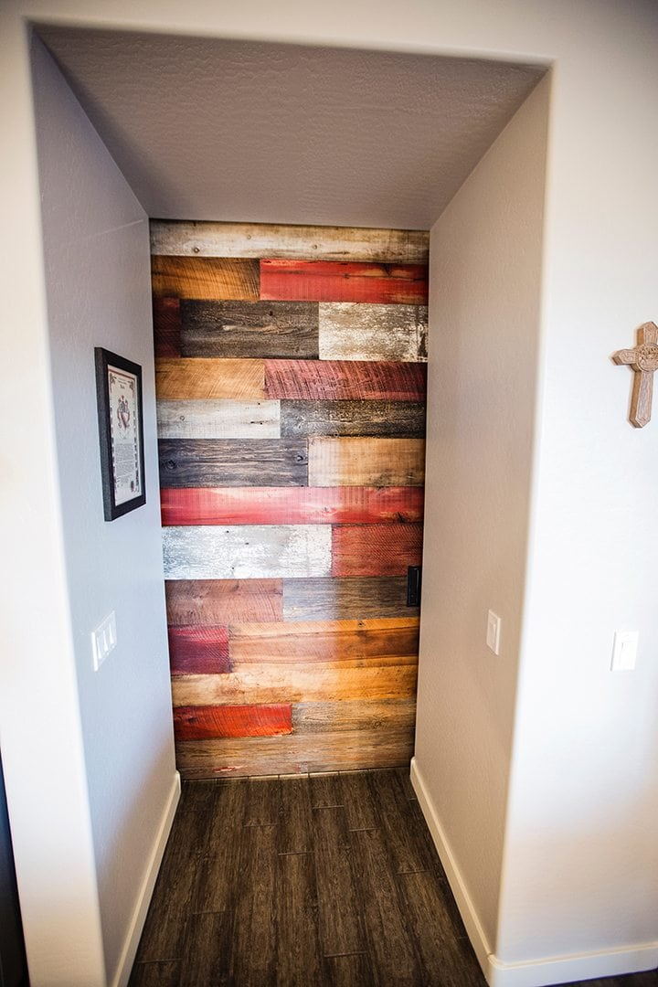 Multi Colored Sliding Barn Door Red Porter Barn Wood