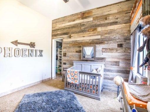 Phoenix Wood Wall