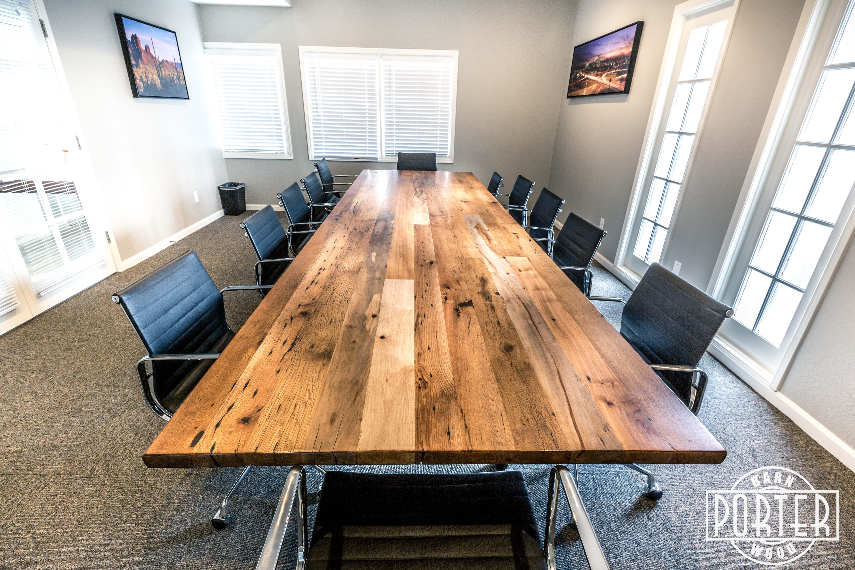 Moeller Conference Table   Porter Barn Wood