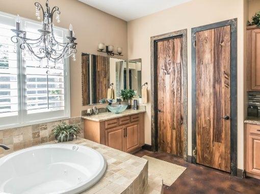Pre-hung Mushroom Wood Doors