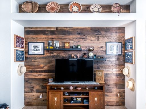 Larkspur Entertainment Wall