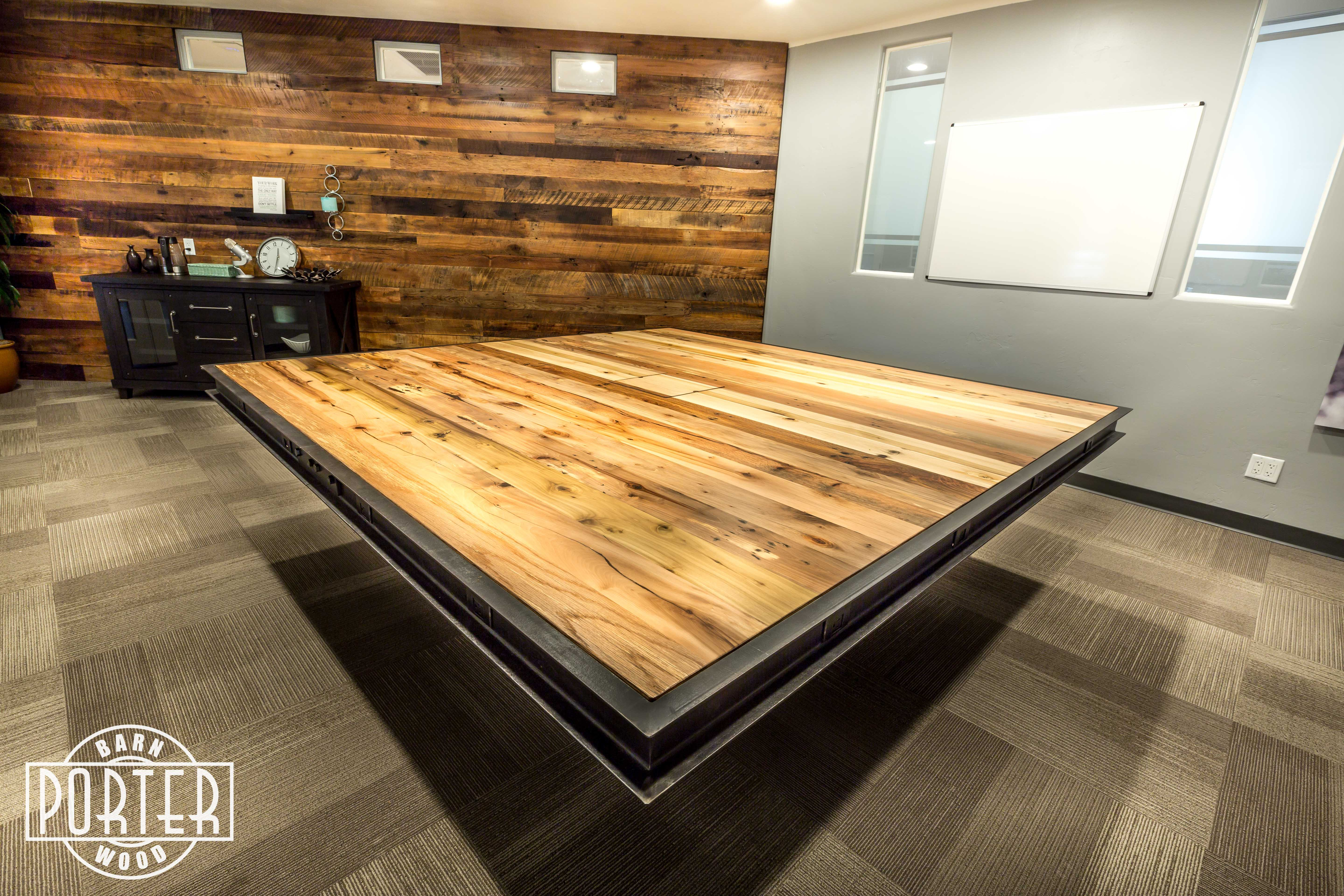 Healthy Lifestyle Brands - Conference Table   Porter Barn Wood