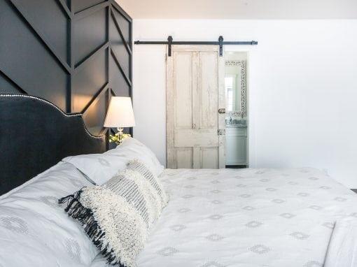 Chisel Built Master Bedroom Sliding Door