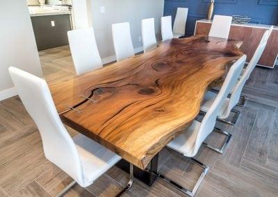 Vecchi Live Edge Dining Table