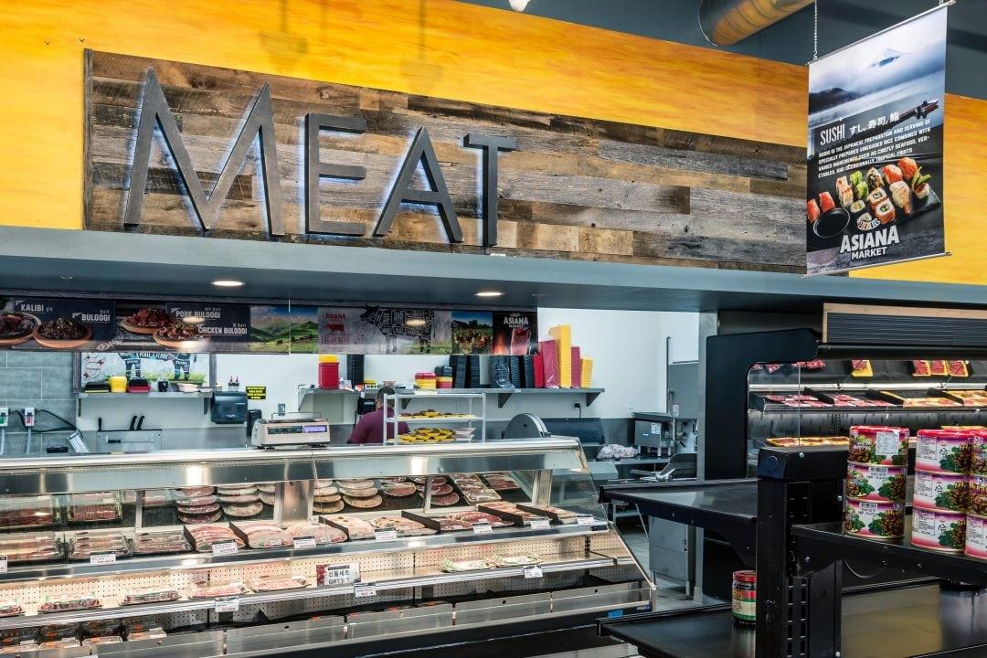 "Asiana Market – ""Meat Sign"""