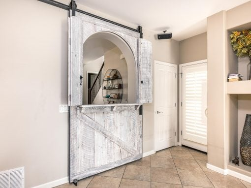 Sliding Dutch Door