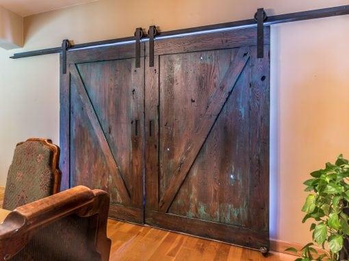 El Freda Bi-Part Doors