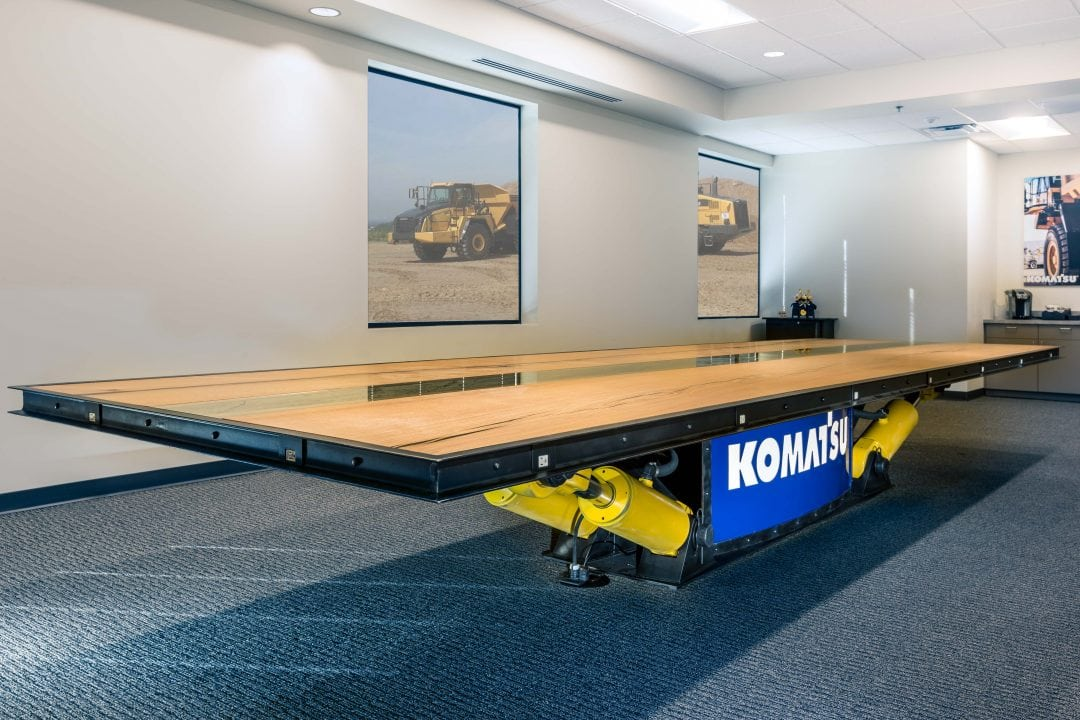 Road Machinery Conference Table