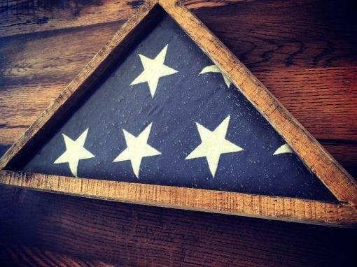 USA Military Flag Case