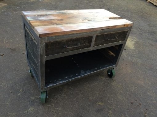 Chopwood Mercantile Rolling Retail Cart