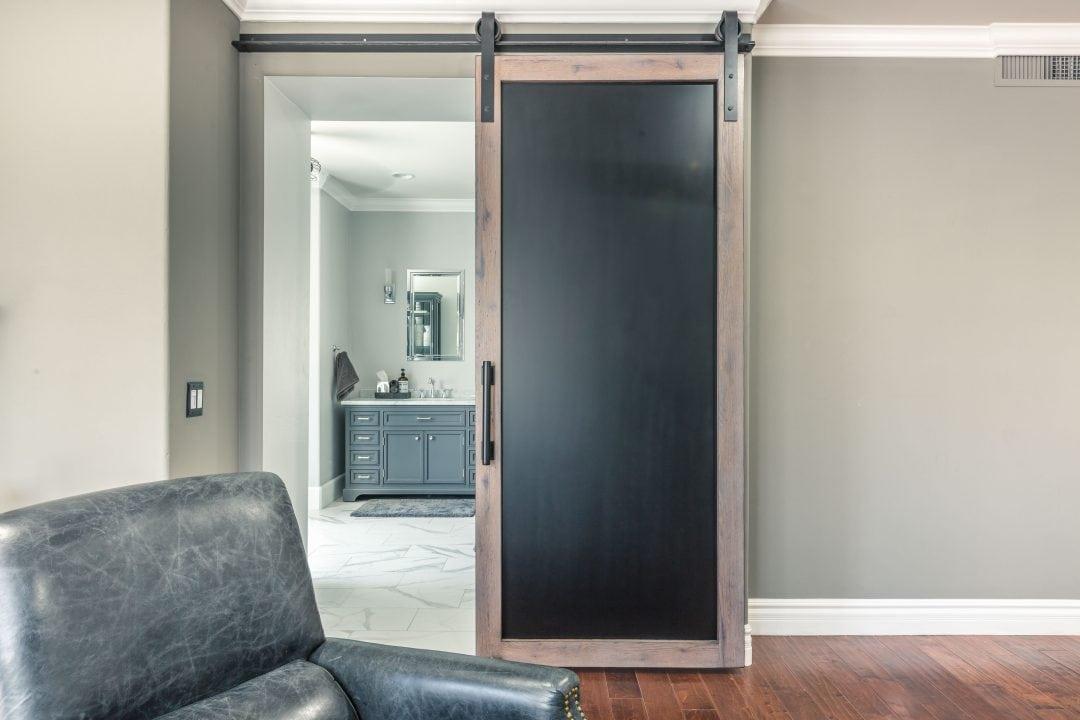 Williams Sliding Steel & Wood Door