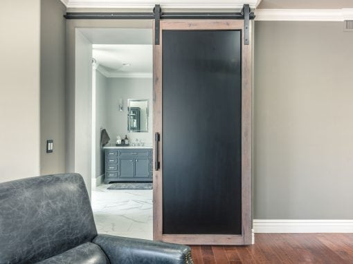 Williams Sliding Steel & Wood Door