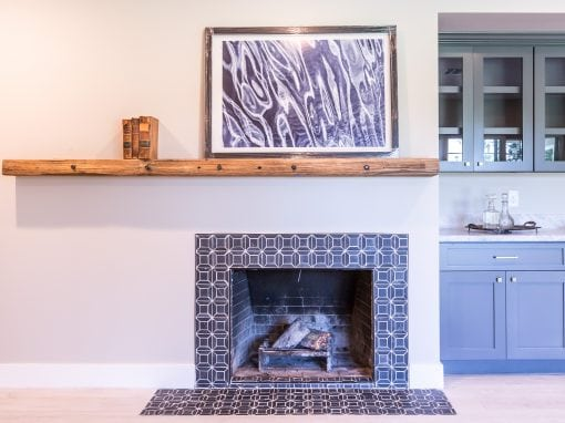 Berridge Mantel Living Room