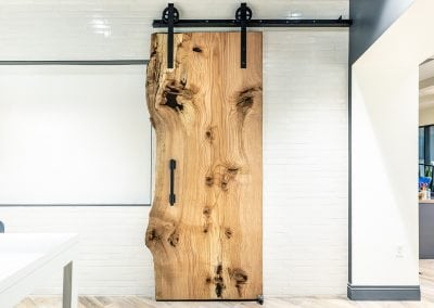 Liv Communities Live Edge Sliding Door
