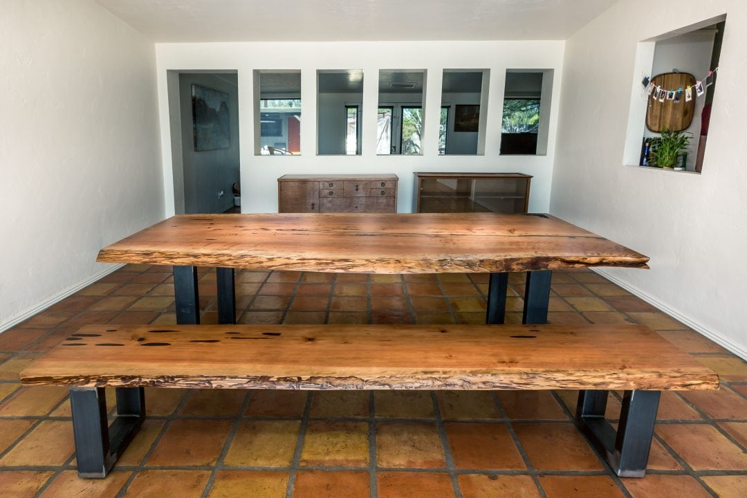 Rose Live Edge Table