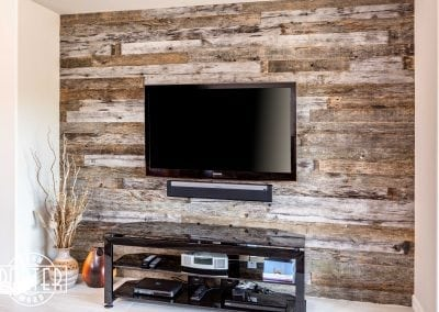 Reclaimed Feature Wall