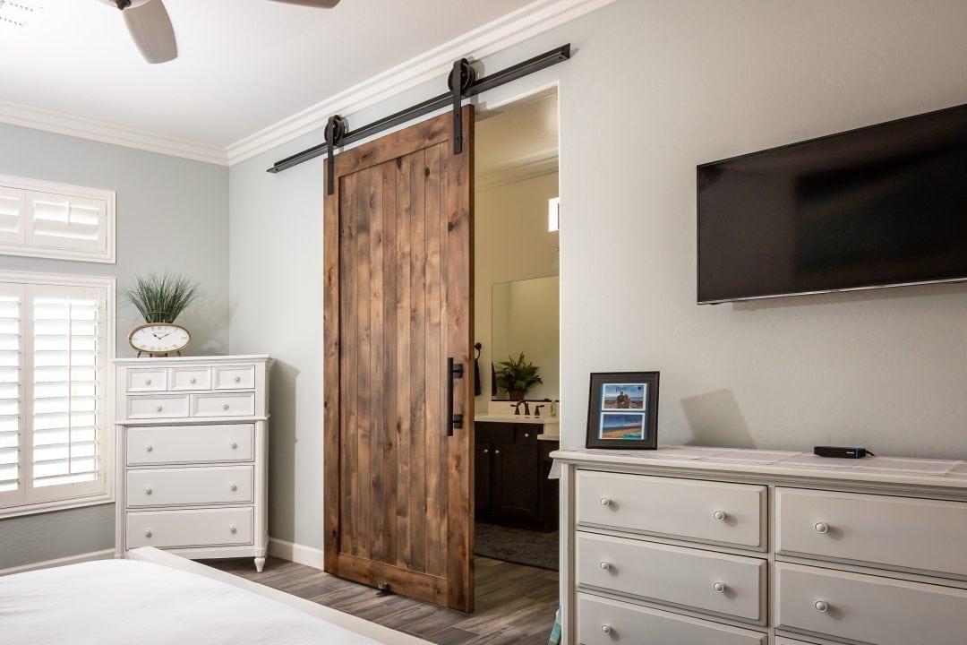 Hillbrand Master Bedroom Sliding Door