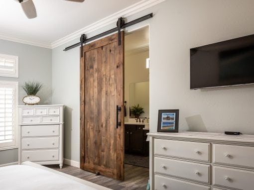 Hillbrand Master Bedroom Sliding Door