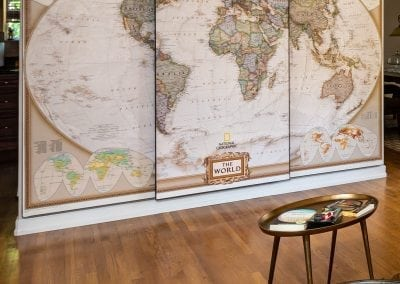 national geographic world map wall