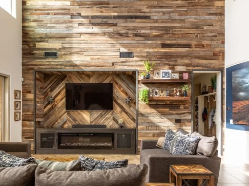 Reclaimed Wood Wall & Entertainment Cabinet – Silvas