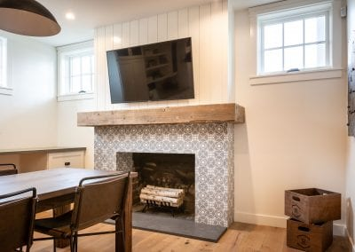 Reclaimed Beam Mantel Rafterhouse